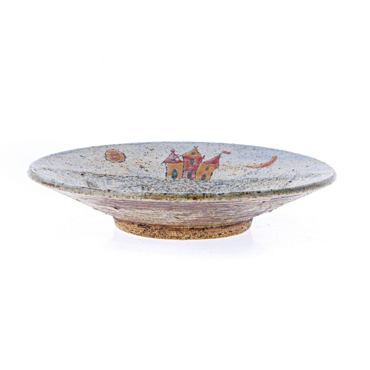 Decorative Plate Handmade Ceramic Table Or Wall Art Decor House Design 36cm 14 2