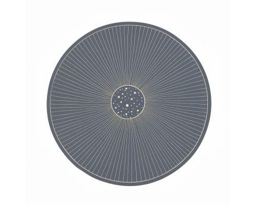 Διακοσμητική Πιατέλα - Κεραμική, Γραμμικό Μοτίβο - Γκρι