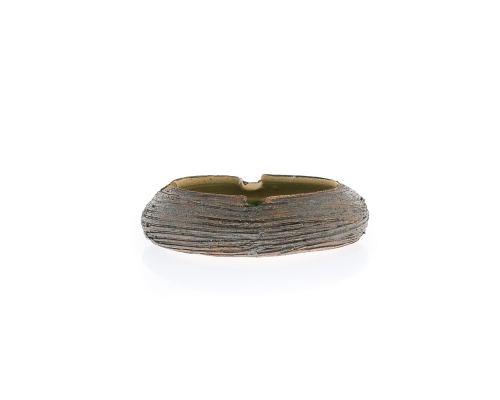 Σετ Διακοσμητικά Τασάκια - Κεραμικά με Πράσινο Γυαλί