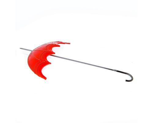 Κόκκινη Ομπρέλα Ανοιχτή- Μεγάλο Διακοσμητικό Τοίχου - Κεραμικό & Μέταλλο