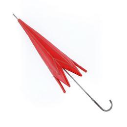 Κόκκινη Ομπρέλα Κλειστή - Μεγάλο Διακοσμητικό Τοίχου, Κεραμικό & Μέταλλο