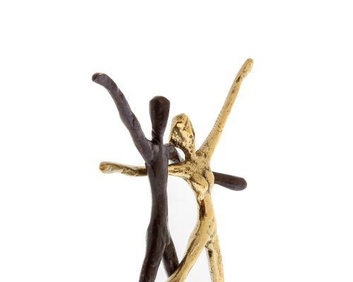 Μεταλλικό Γλυπτό, Ζευγάρι Χορευτές - Μοντέρνο Διακοσμητικό