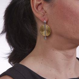 Σκουλαρίκια, Επίχρυσα και Επάργυρα - Σπείρα