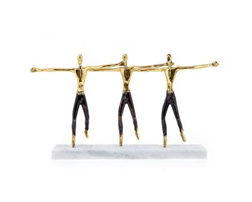 Μεταλλικό Γλυπτό, Ελληνικός Χορός - Διακοσμητικό, Μεγάλο