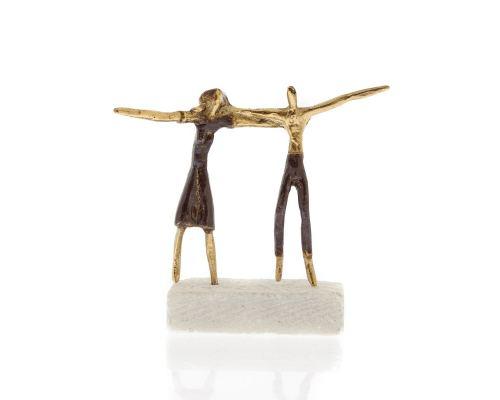 Μεταλλικό Γλυπτό, Ελληνικός Χορός - Διακοσμητικό, Μικρό