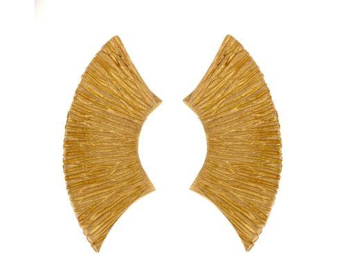 Σκουλαρίκια, Επίχρυσα - Μισοφέγγαρο