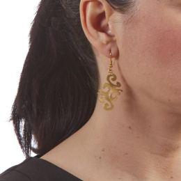 Σκουλαρίκια, Επίχρυσα - Οριένταλ