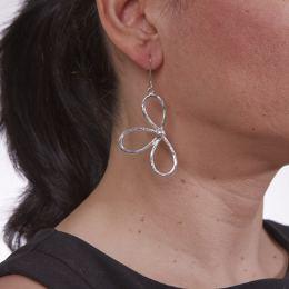 Σκουλαρίκια, Επάργυρα - Μαργαρίτα