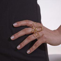 Δαχτυλίδι, Επίχρυσο - Μαργαρίτα