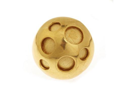 Δαχτυλίδι, Επίχρυσο - Σφαίρα