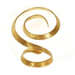 Δαχτυλίδι, Επίχρυσο - Σπείρα