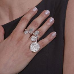 Δαχτυλίδι, Επάργυρο Διπλό