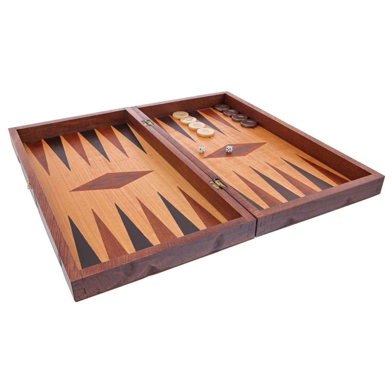 Backgammon Game Set Wooden Handmade Quot The Players
