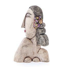 Κεραμική Προτομή Γυναίκας - Μοντέρνο Διακοσμητικό Γλυπτό