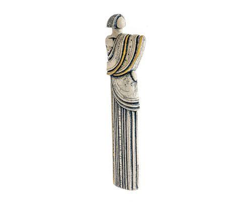 Γλυπτό Γυναικεία Φιγούρα - Κεραμικό Διακοσμητικό Αγαλματίδιο - Αρχαϊκό Σχέδιο
