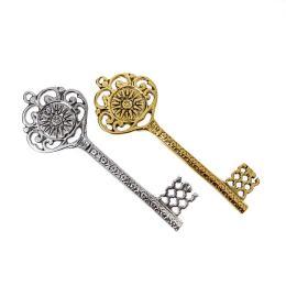 Διακοσμητικό Κλειδί - Γούρι, Μεταλλικό, Μεγάλο - Βεργίνα - 2 χρώματα