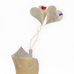 Διακοσμητικό Μοντέρνο Μεταλλικό - Σπίτι