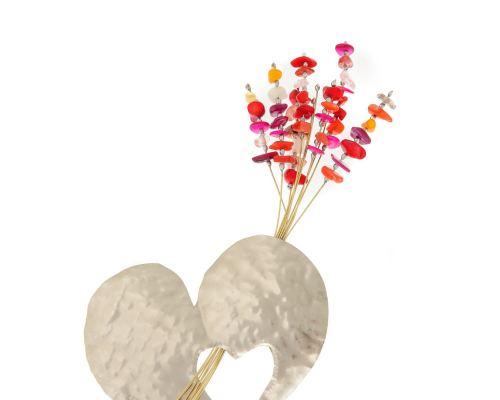 Διακοσμητικό Μοντέρνο Μεταλλικό - Καρδιά