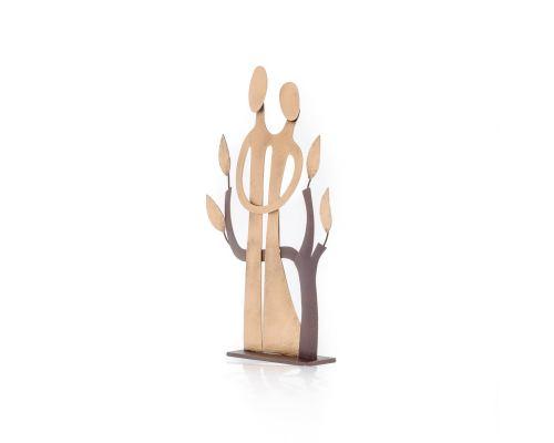 Μεταλλικό Διακοσμητικό - Ζευγάρι & Δέντρο, Μικρό