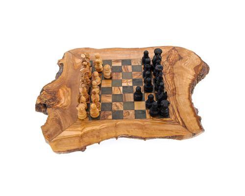 Σκάκι - Ξύλινο Παιχνίδι από Ελιά - Μεγάλο