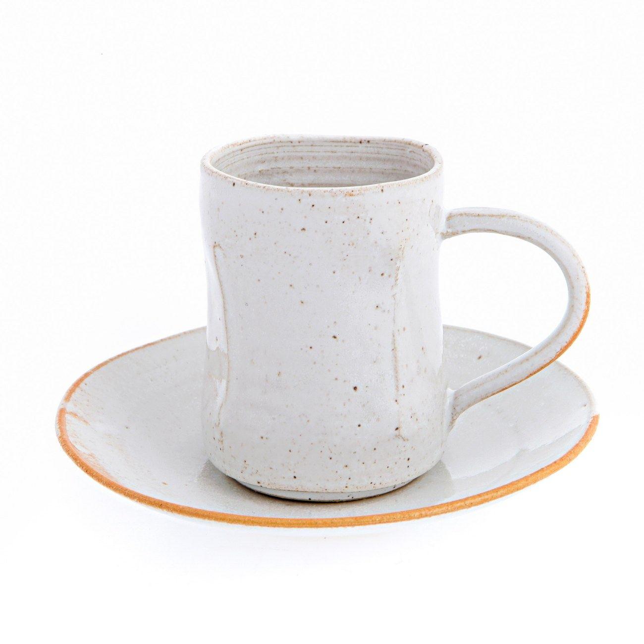 modern coffee cup - tea coffee cup and saucer modern handmade ceramic serving set