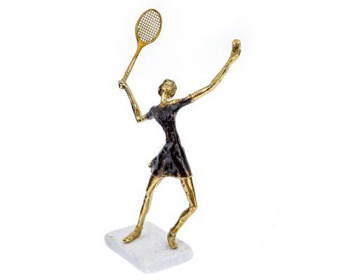 Μεταλλικό Γλυπτό, Παίκτρια Τέννις - Μοντέρνο Διακοσμητικό, Φιγούρα