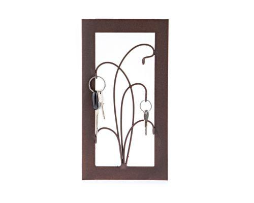 Κλειδοθήκη Τοίχου - Μεταλλικό Διακοσμητικό, Σχέδιο Κορνίζα